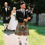 Bagpiper Peter Anderson