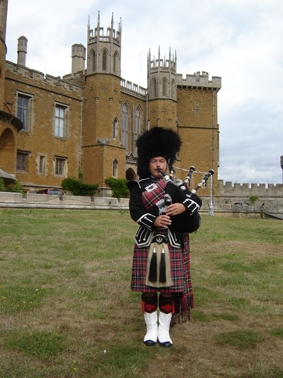 Bagpiper Billy James