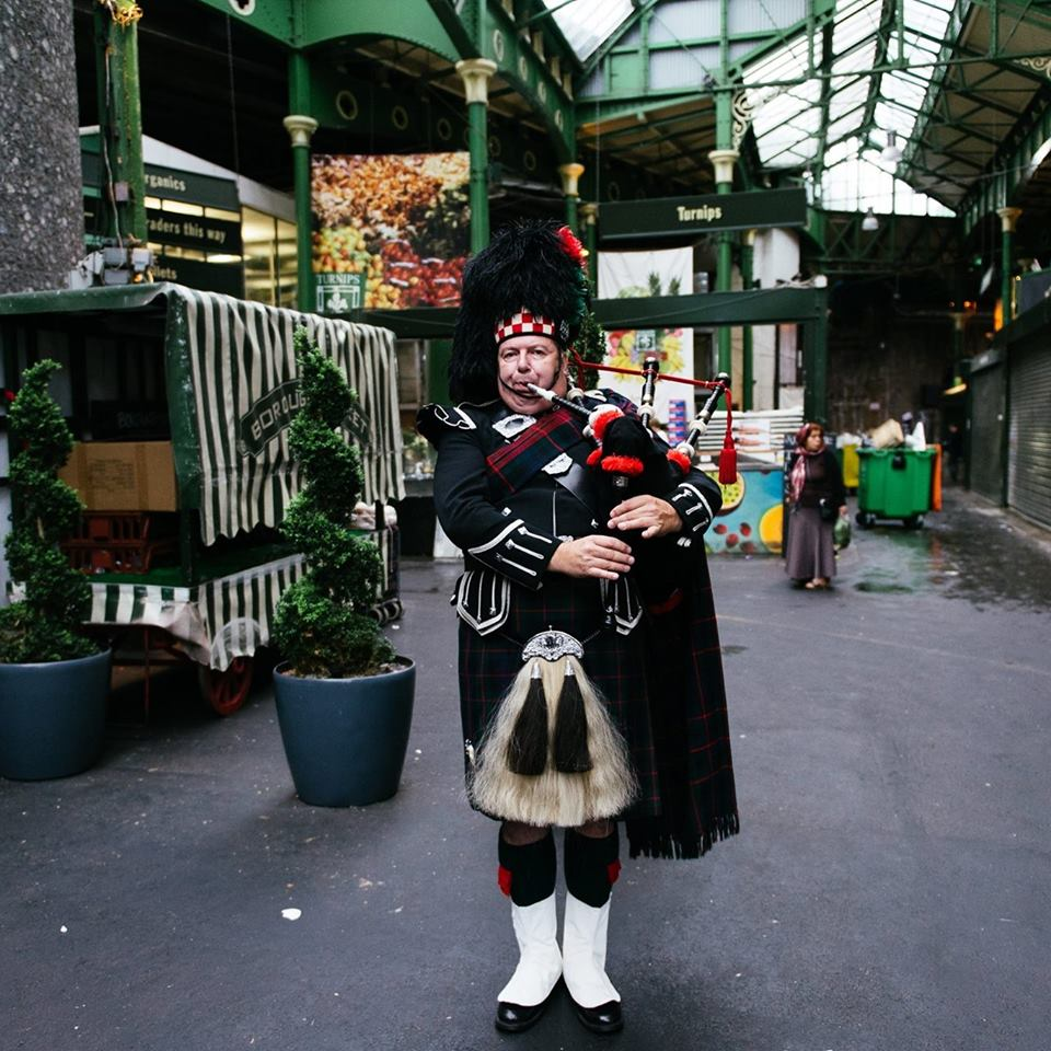 Reading Bagpiper