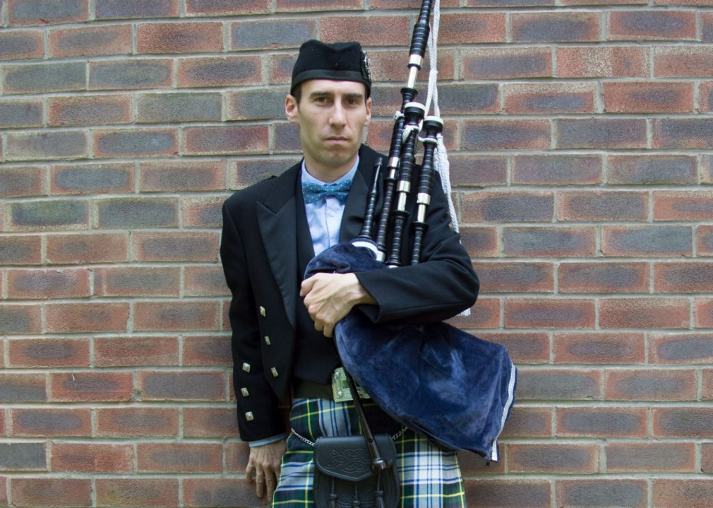 North West Bagpiper