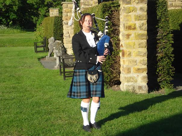 somerset bagpiper hire