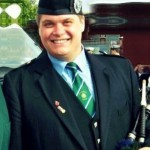 Exeter Bagpiper