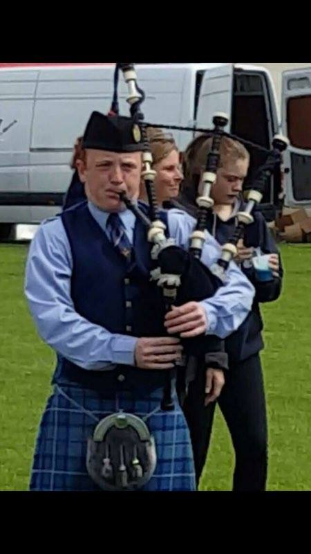 Conal Kelly East Midlands Bagpiper